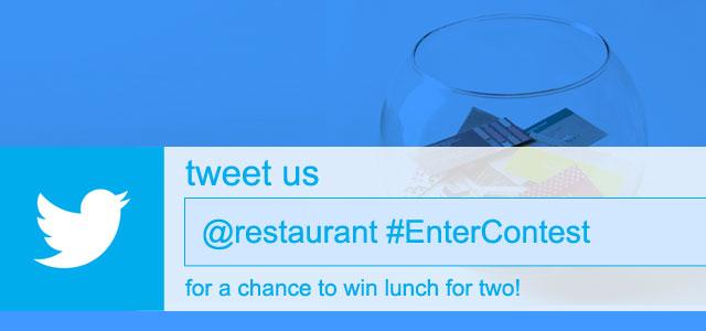 Tweet to Enter