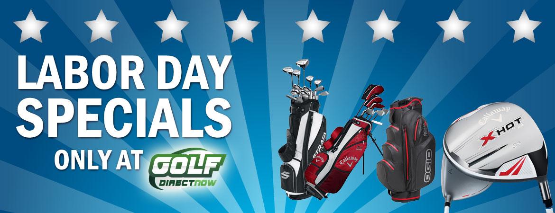 Labor Day Specials From GolfDirectNow.com
